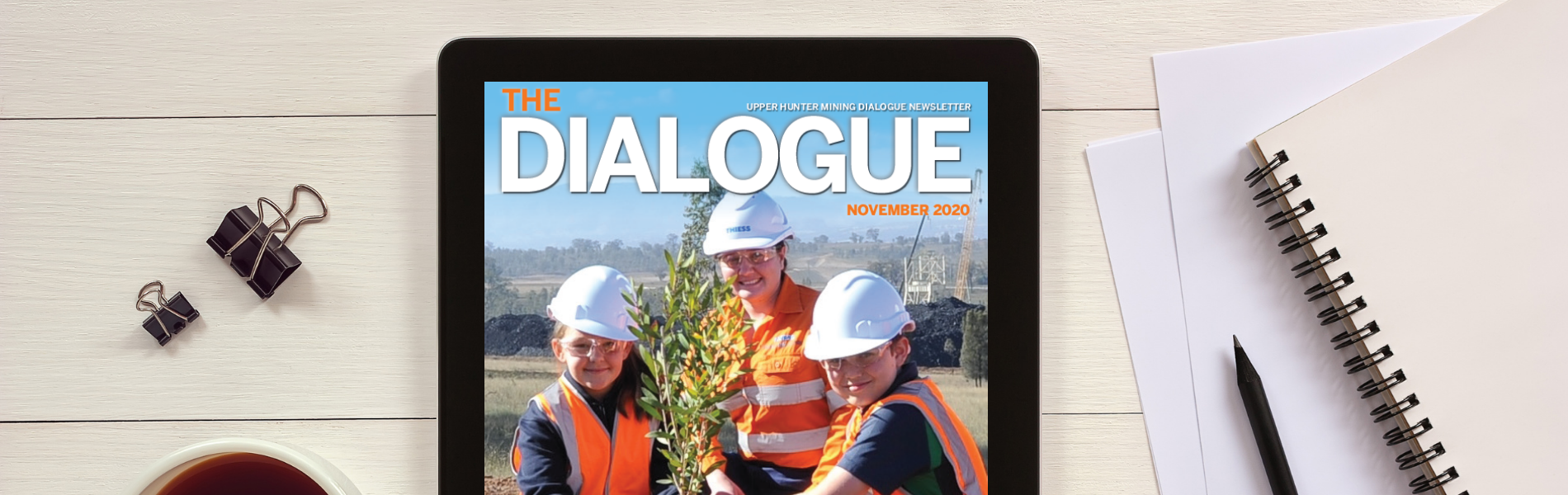Catch up on all 'The Dialogue' latest with the November 2020 newsletter