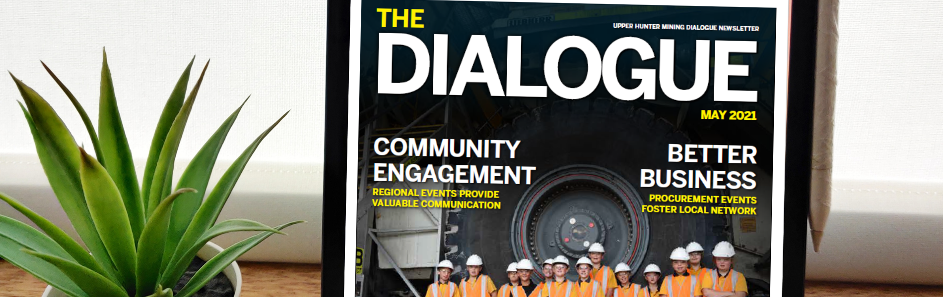 'The Dialogue' is back on the road again: Catch up on the latest news in our May 2021 Newsletter