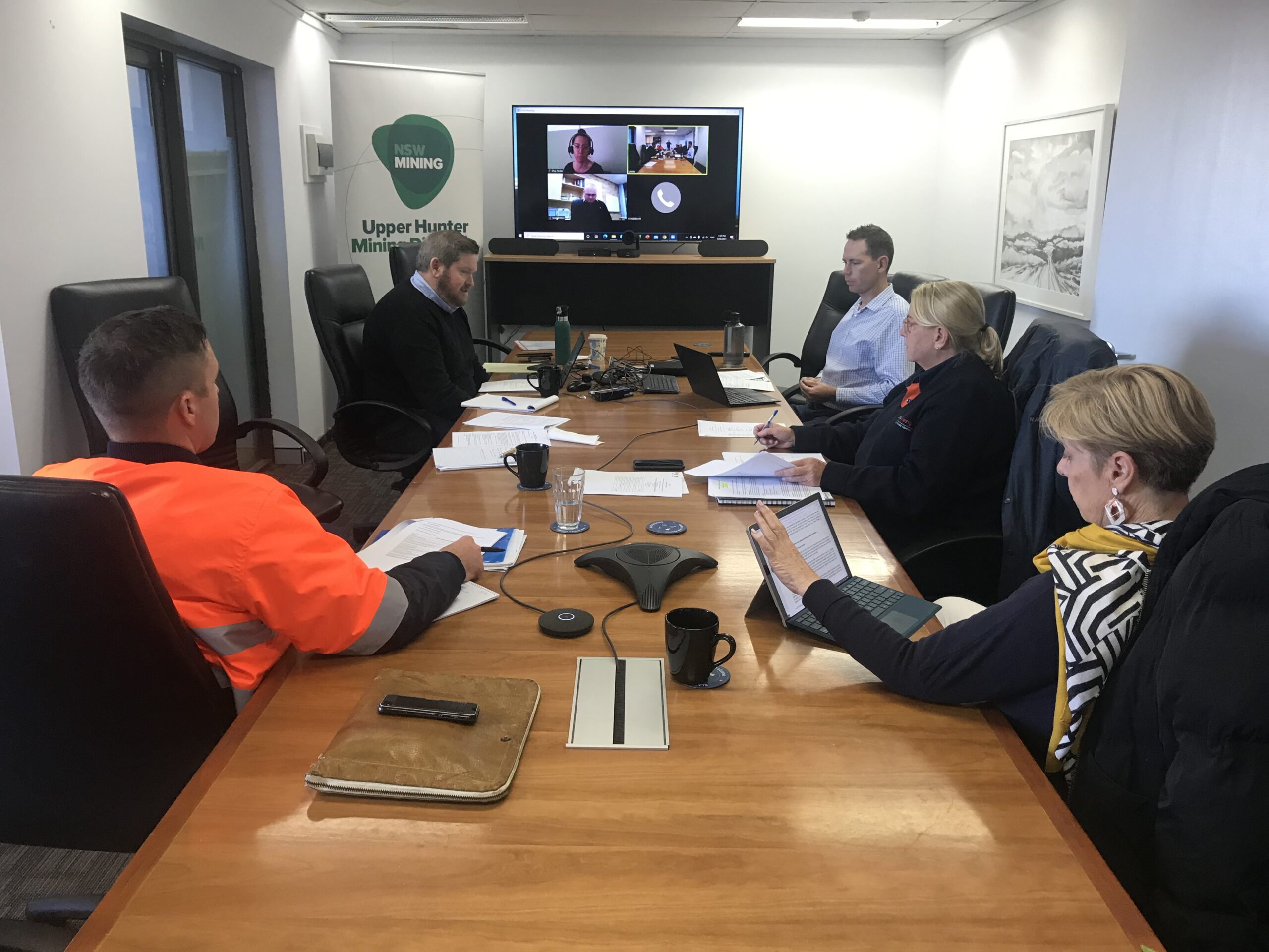 Upper Hunter Mining Dialogue Joint Working Groups resume in-person meetings